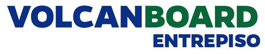 logotipo volcanboard entrepiso placa fibrocemento