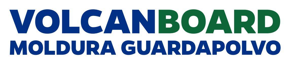 logotipo volcanboard moldura guardapolvo