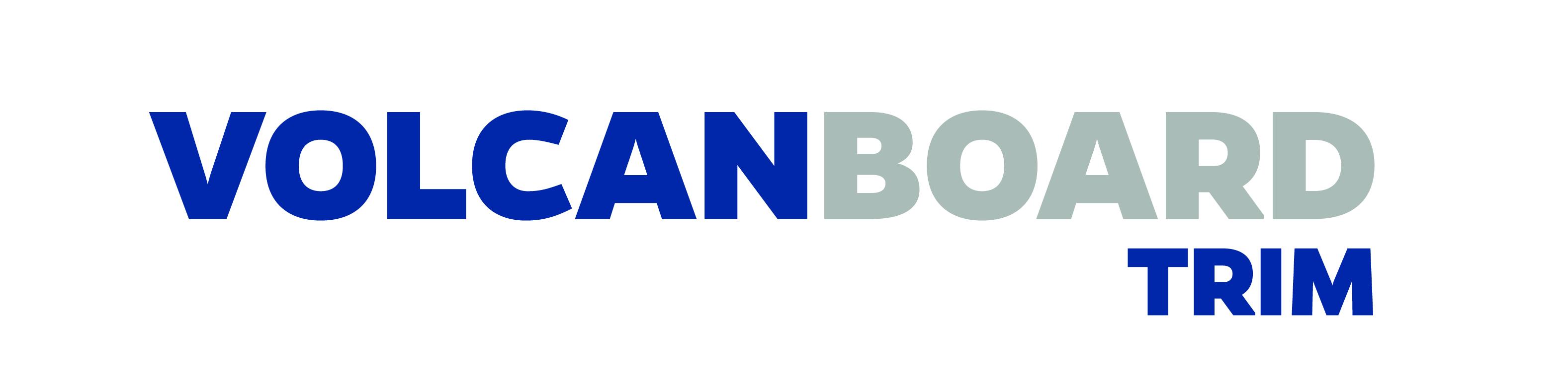 logotipo volcanboard trim texturado fibrocemento