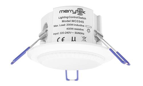 sensor movimiento microondas mc0405 evolux