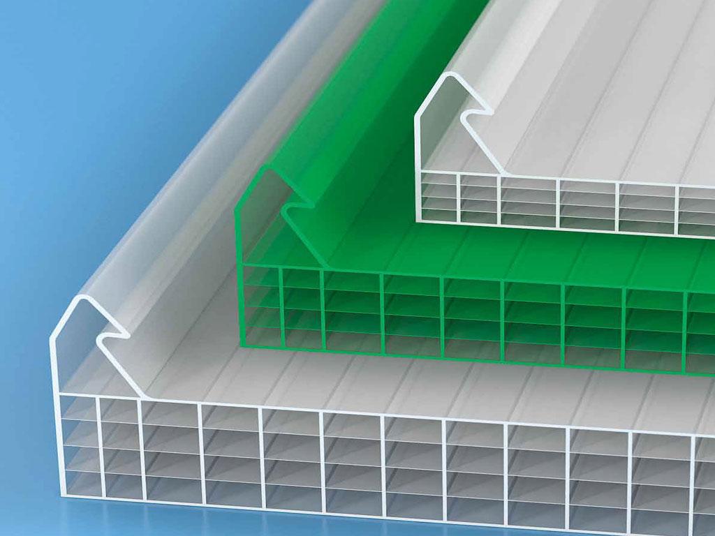 Sistema de cubierta de policarbonato - GP Revers