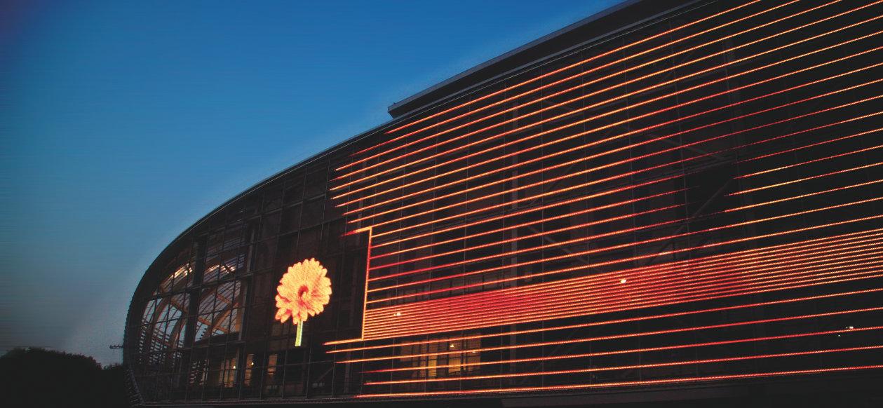 Iluminacion led para fachadas
