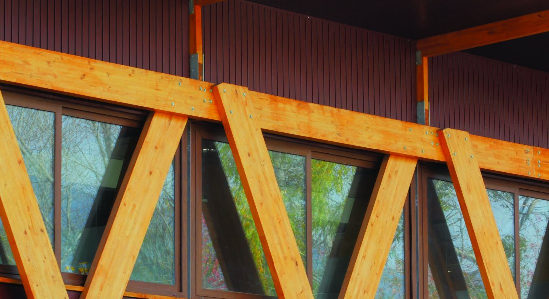 Revestimiento de madera Timberline - Hunter Douglas