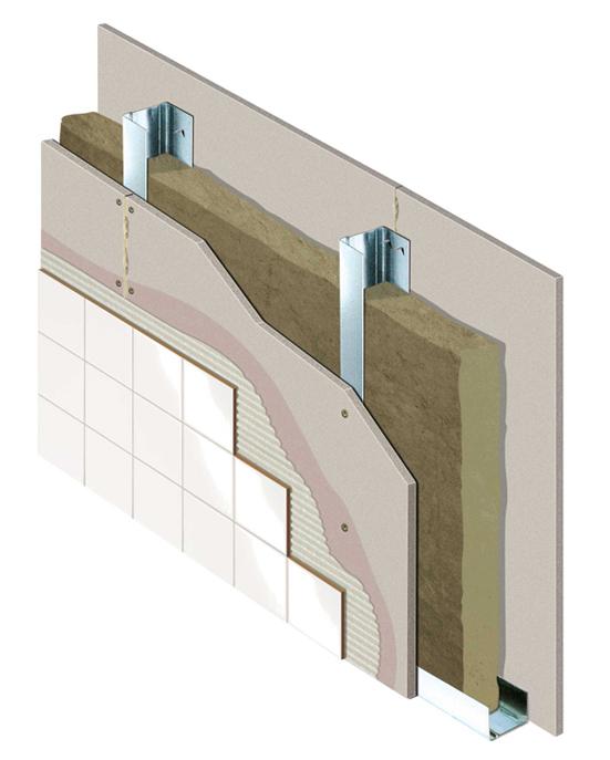 tabique aquapanel indoor knauf