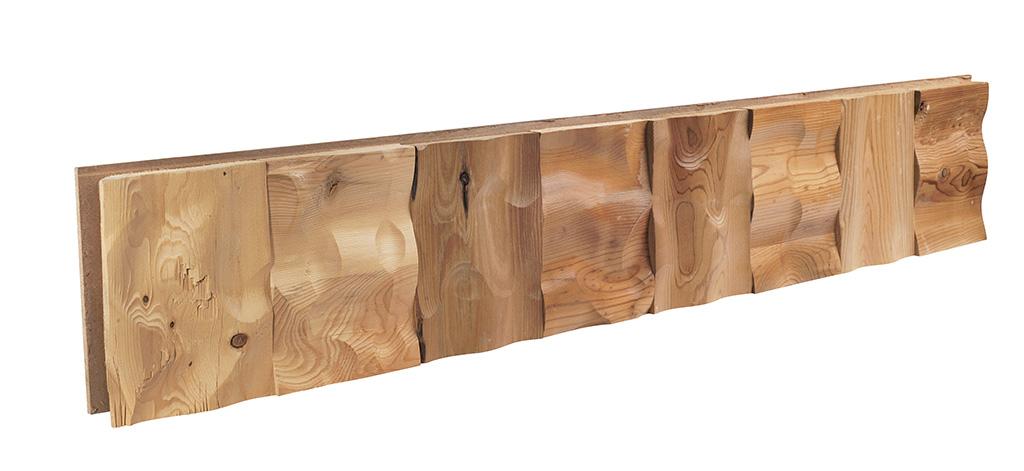 Revestimiento madera Tejido 3d