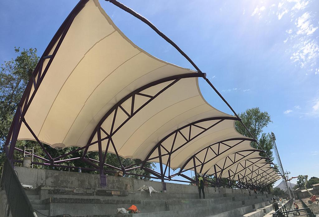 tensoestructura, Estadio Conchalí - Domos