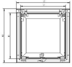 esquema puerta de registro Skyhouse