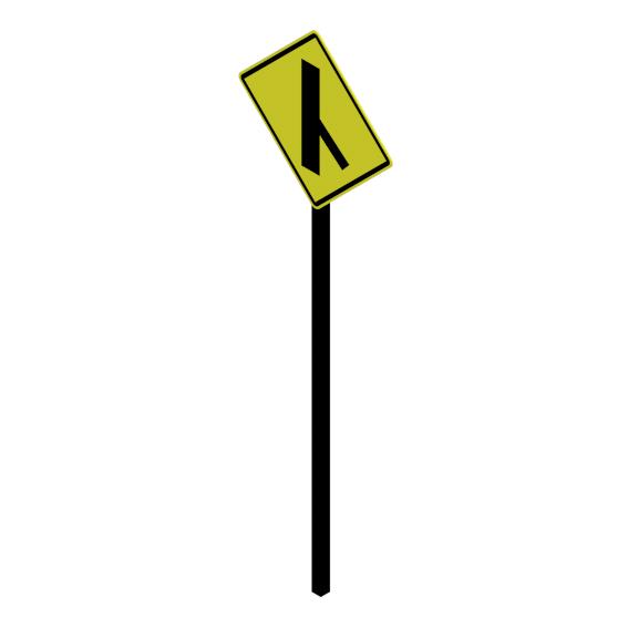 Camino lateral oblicuo