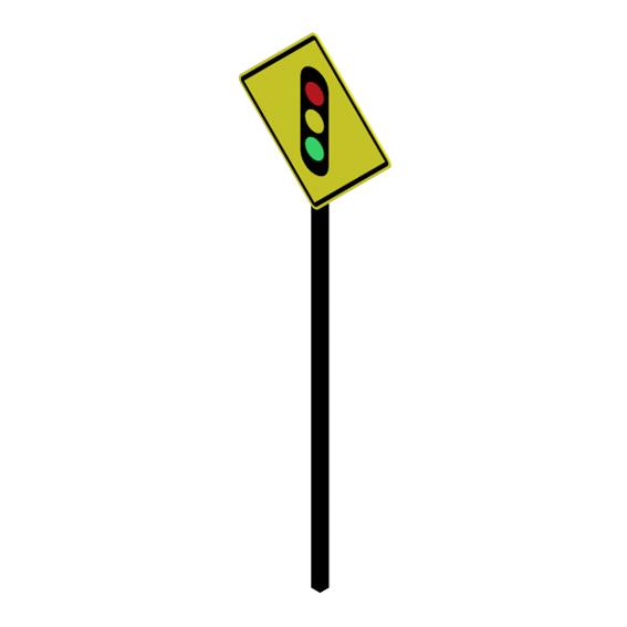 Proximidad de semaforo