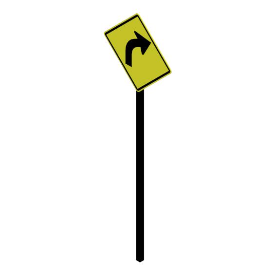 Curva a la derecha