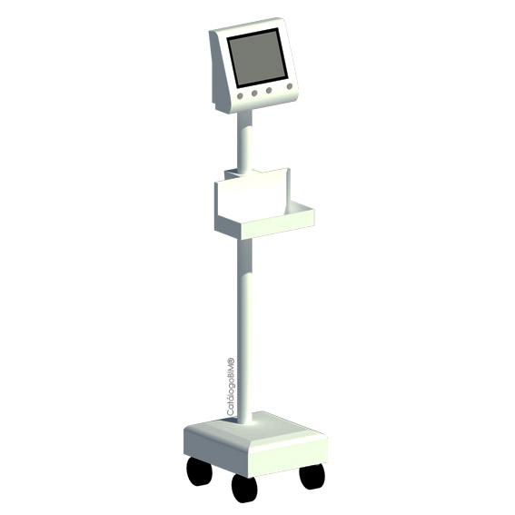 Monitor de presión arterial con oxímetro