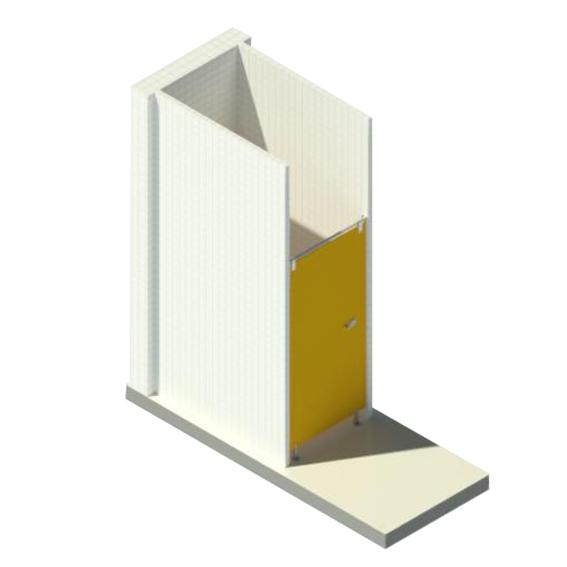 Cabinas HPL de 2 caras