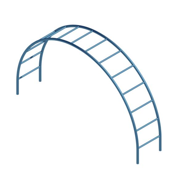 Arco para trepar plaza