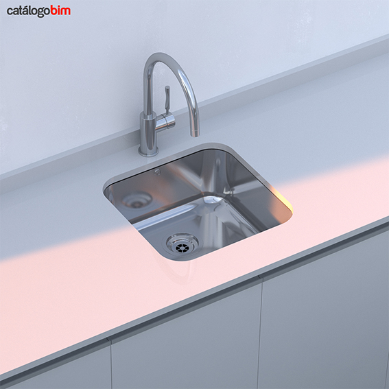 Lavaplatos bajo encimera – Modelo BE 40.40