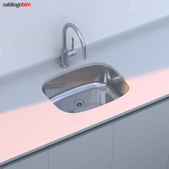 Lavaplatos bajo encimera – Modelo BE 50.40