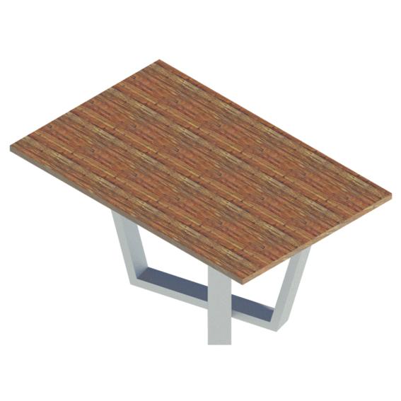 Mesa diseño madera