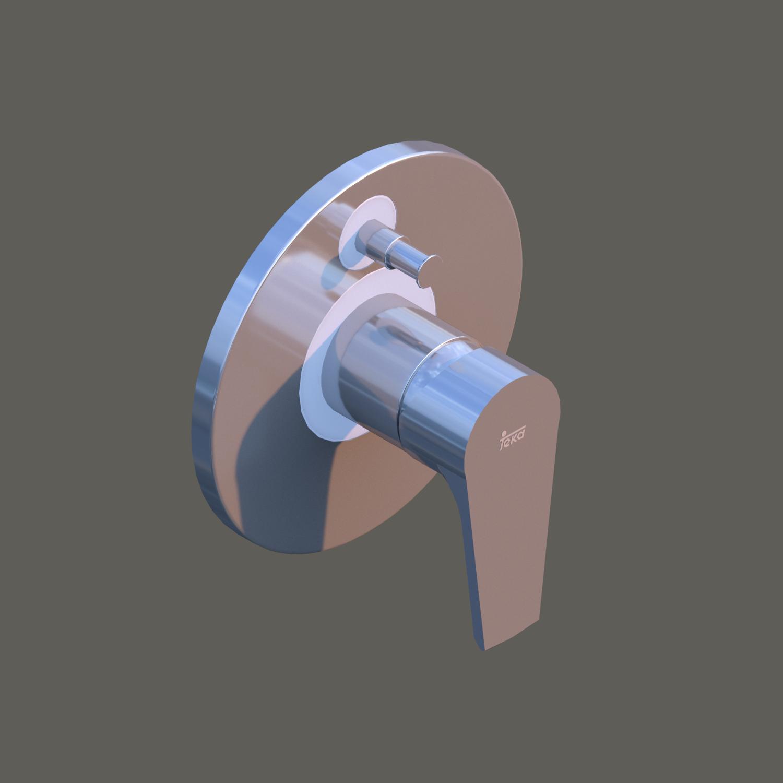 Grifería para Baño – Modelo Calvia Baño-Ducha Empotrada