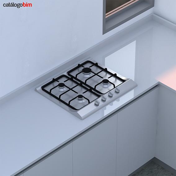 Encimera placa de cocción a gas – EH 60 4G AI CI