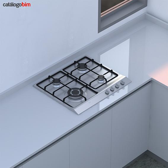 Encimera placa de cocción a gas - EH 60 4G AI TR CI