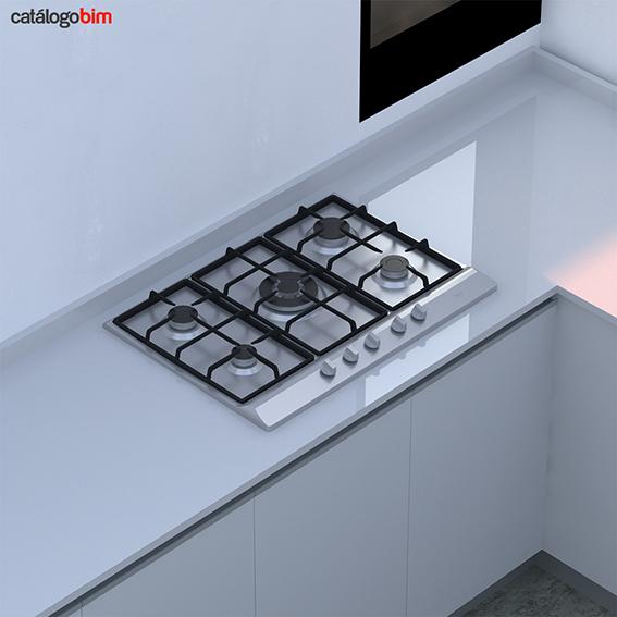Encimera placa de cocción a gas – EH 70 5G AI TR CI