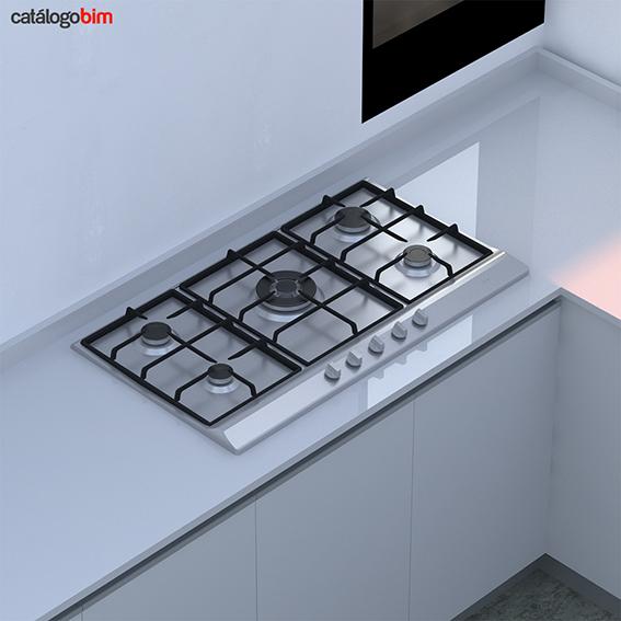 Encimera placa de cocción a gas – EH 90 5G AI TR CI