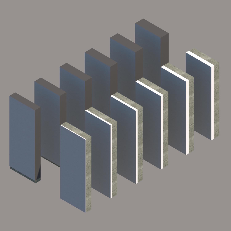Muros EIFS/SATE de Codelpa en BIM