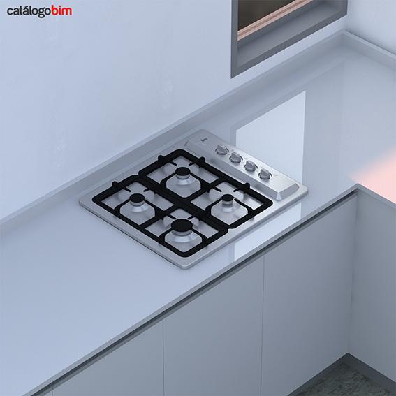 Encimera placa de cocción a gas – EP 60 4G AI CI
