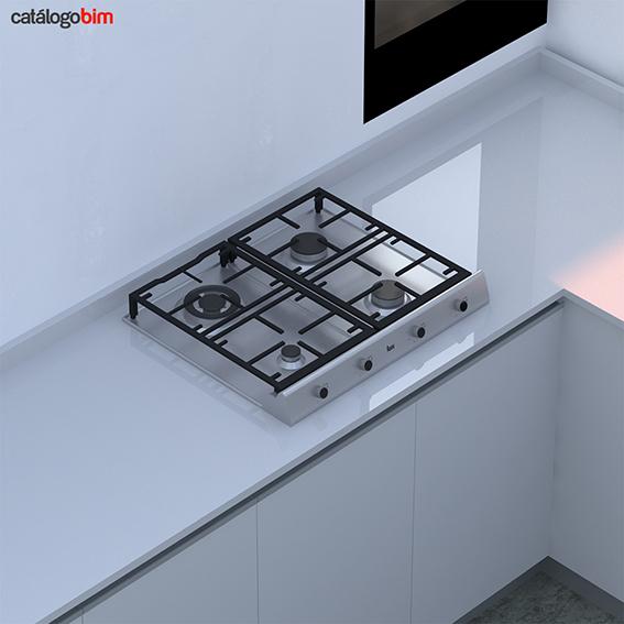Encimera placa de cocción a gas – EX 60.1 4G AI DR CI