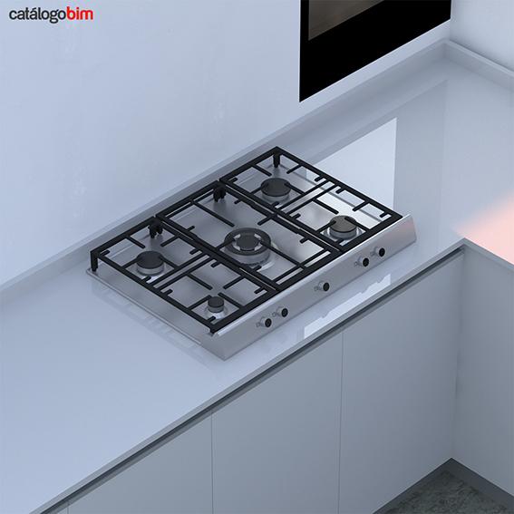 Encimera placa de cocción a gas – EX 70.1 5G AI DR CI