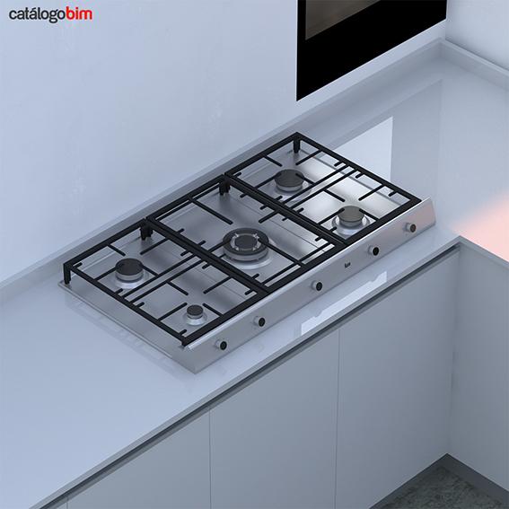 Encimera placa de cocción a gas – EX 90.1 5G AI DR CI