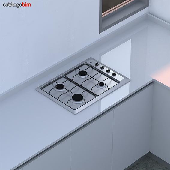 Encimera placa de cocción a gas – HLX 50 4G AI CI