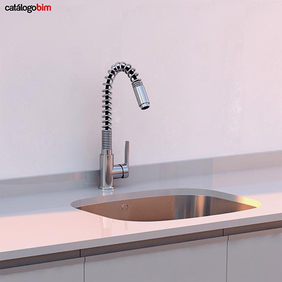 Grifo para lavaplatos – Modelo IN-934 CR Eco