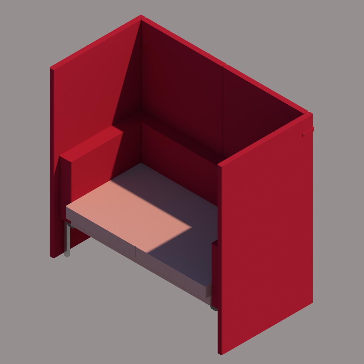 Colección de Mobiliario de Oficina COLAB de Siel Diseño en BIM