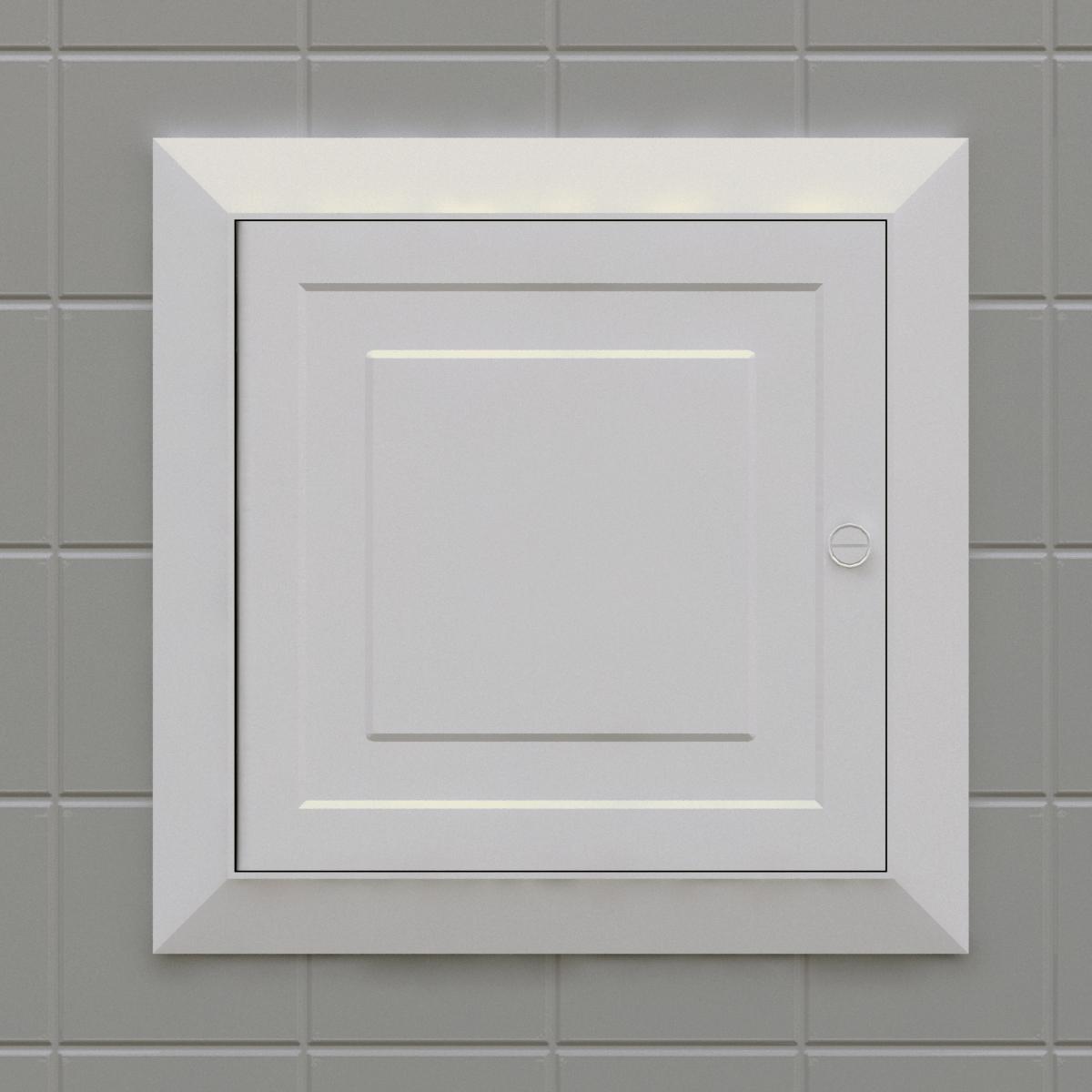 Panel con puerta con Seguro Silplas