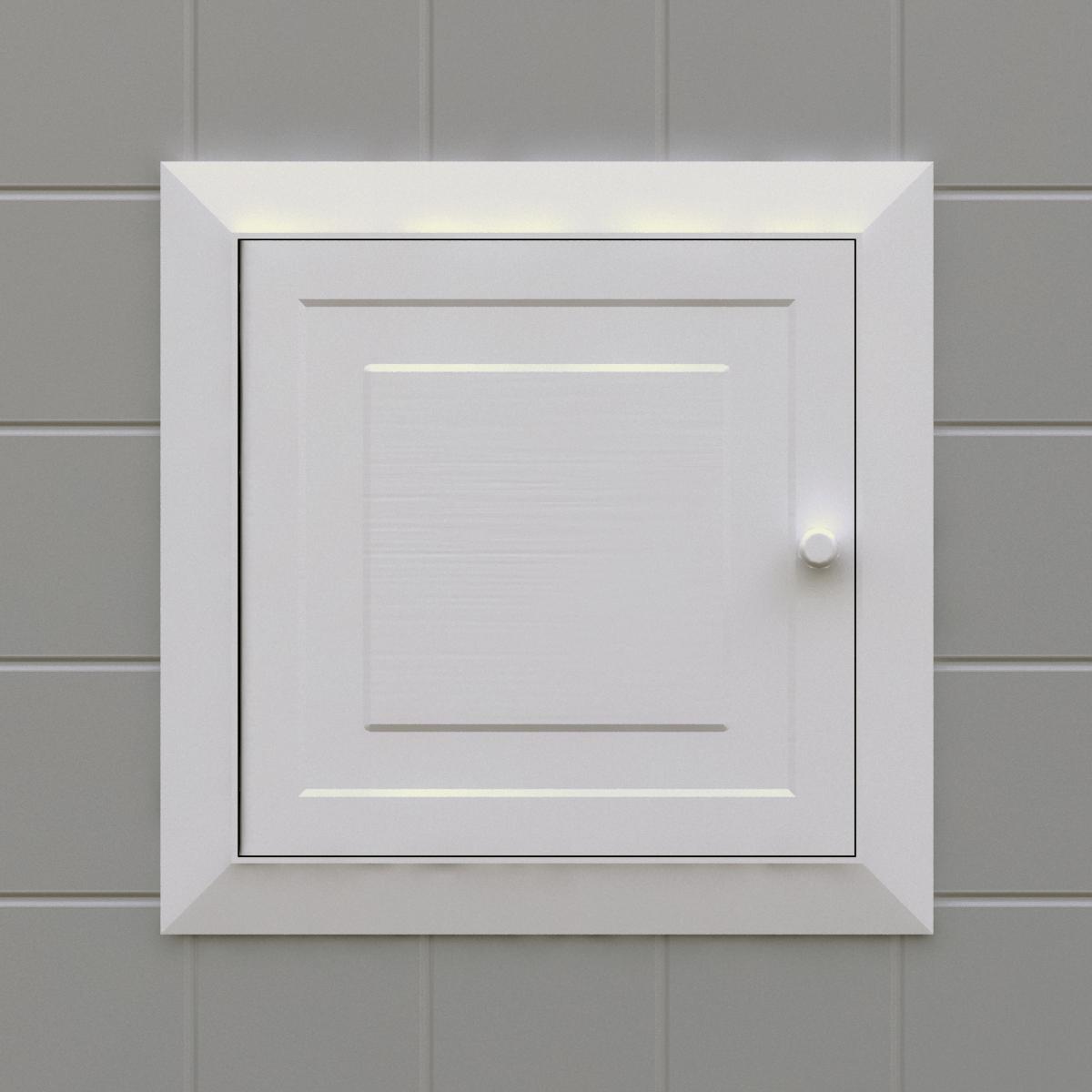 Panel con puerta corriente Silplas