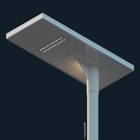 Luminaria exterior Dec-320-C-Certificada DS 43