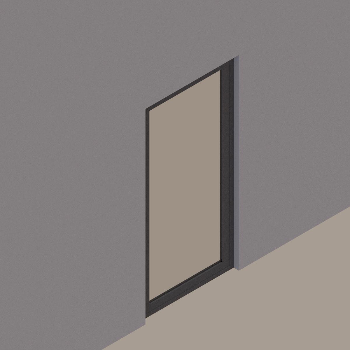Puerta de abatir 1 hoja cristal termopanel bf9631b9 c516 4511 a0b3 69c32ae3daca