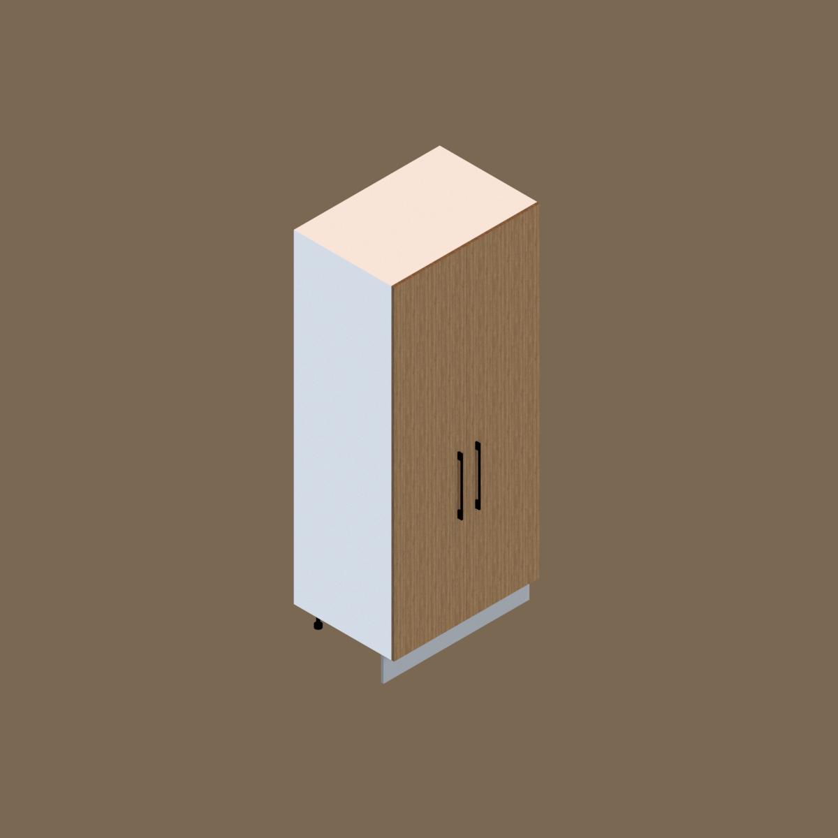 Mueble Tirador Torre Despensa 1 Puerta 220 cm