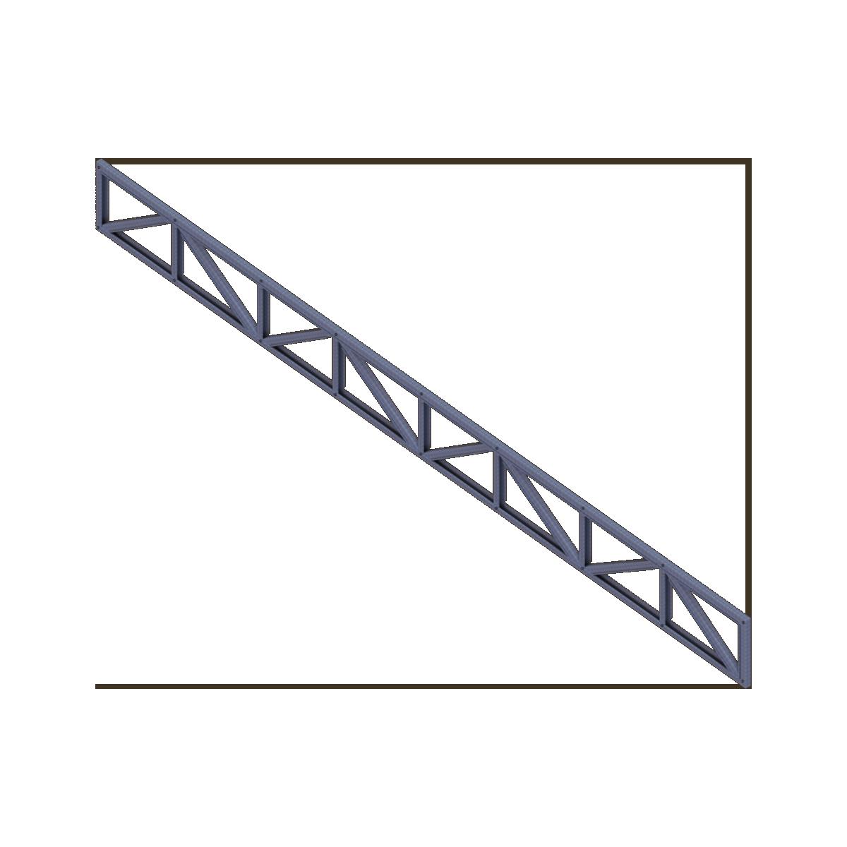 Viga Reticulada Prefabricada de Acero de Tecnopanel en BIM