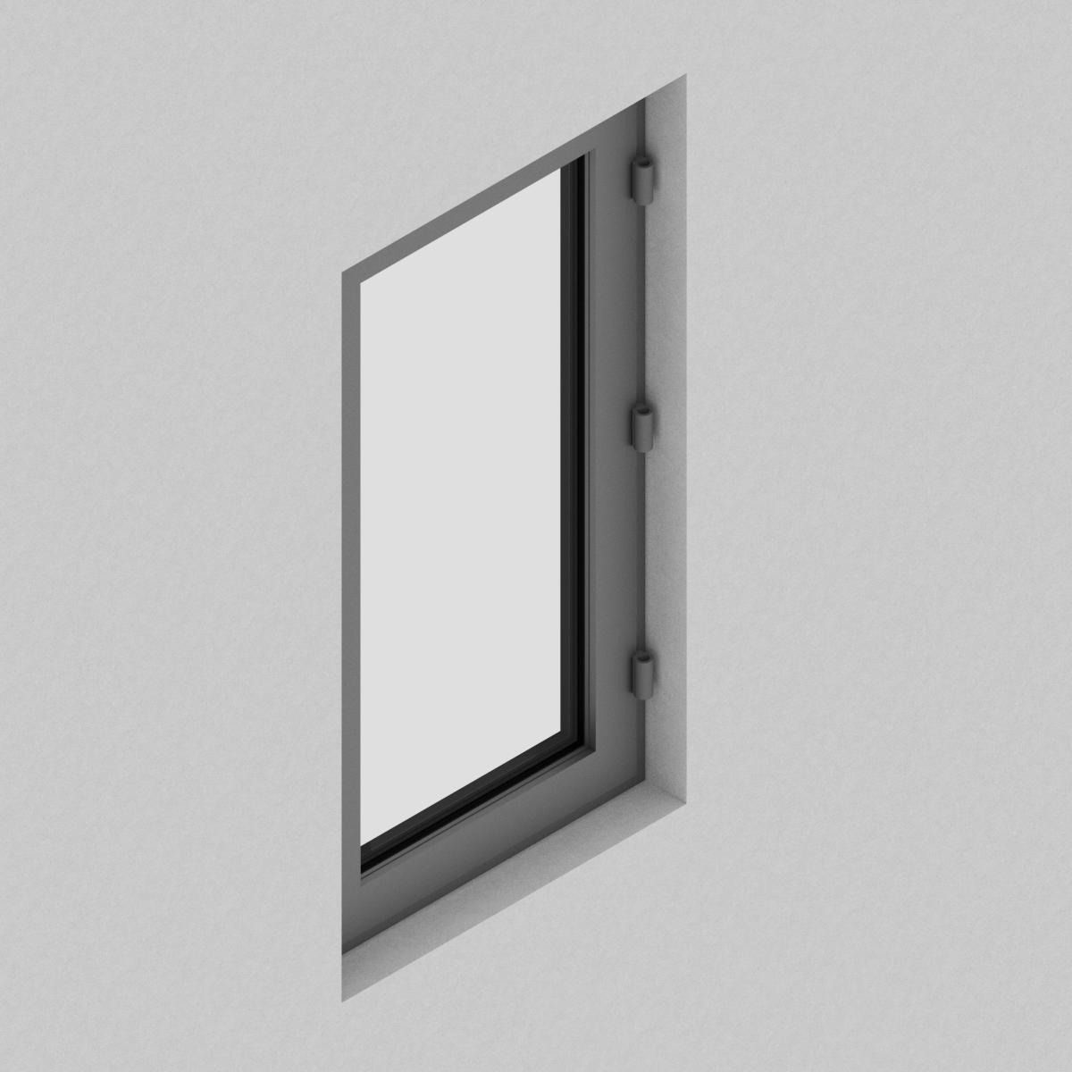 Ventana Batiente QT de perfil de Aluminio con RPT