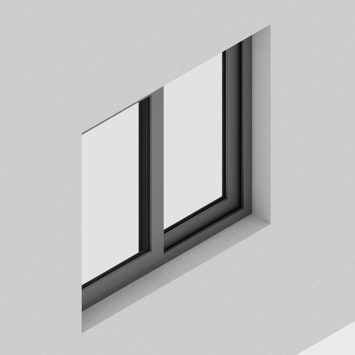 Ventana Corredera Antepecho QT de perfil de Aluminio con RPT