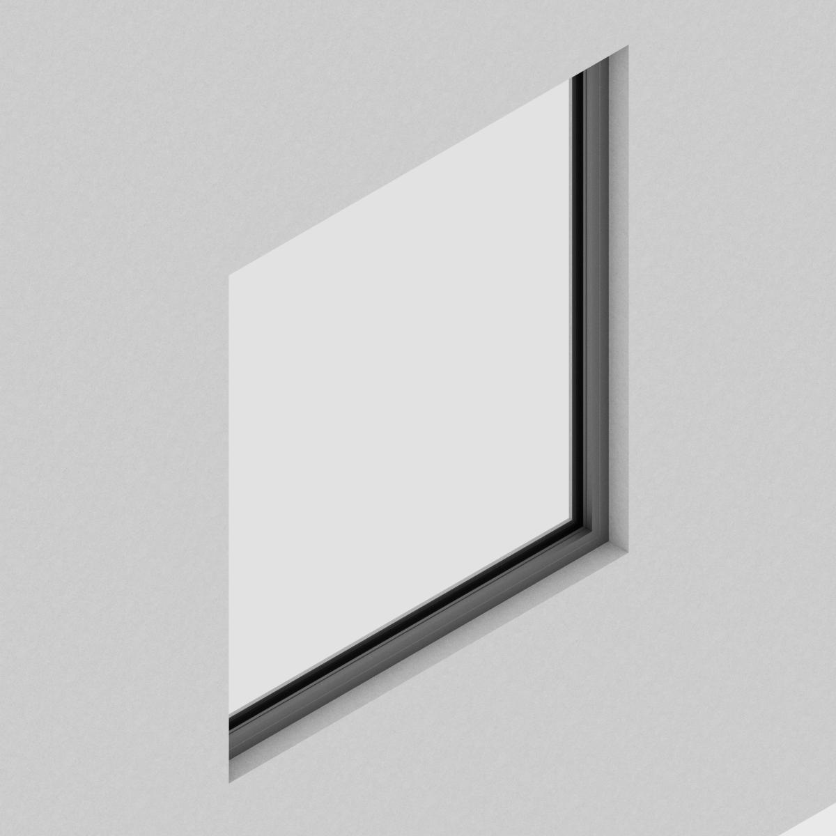 Ventana Fija QT de perfil de Aluminio con RPT