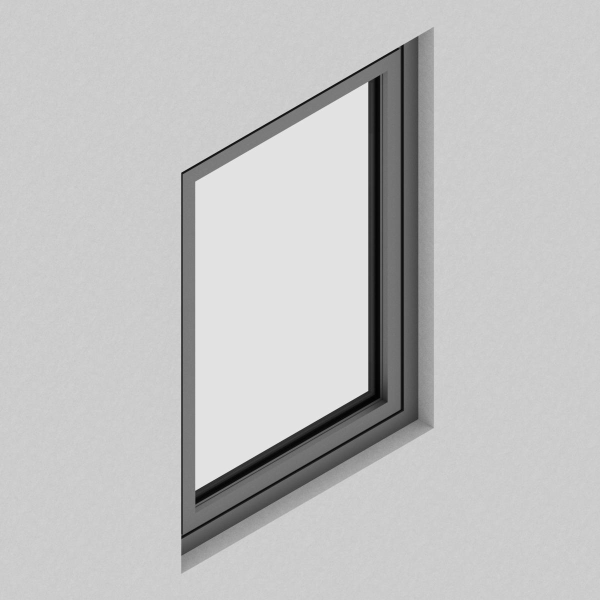 Ventana Proyectante QT de perfil de Aluminio con RPT