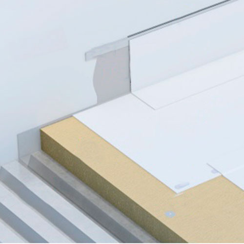 Cubierta Plana No Transitable Reflectante REF1/D en BIM