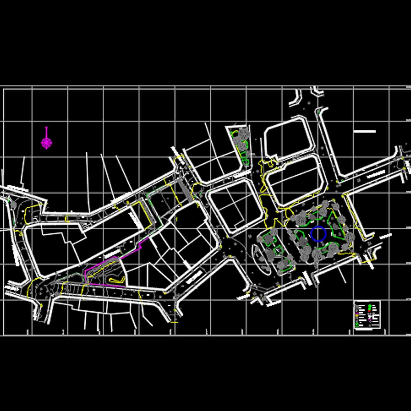 Plano: Plaza Echaurren