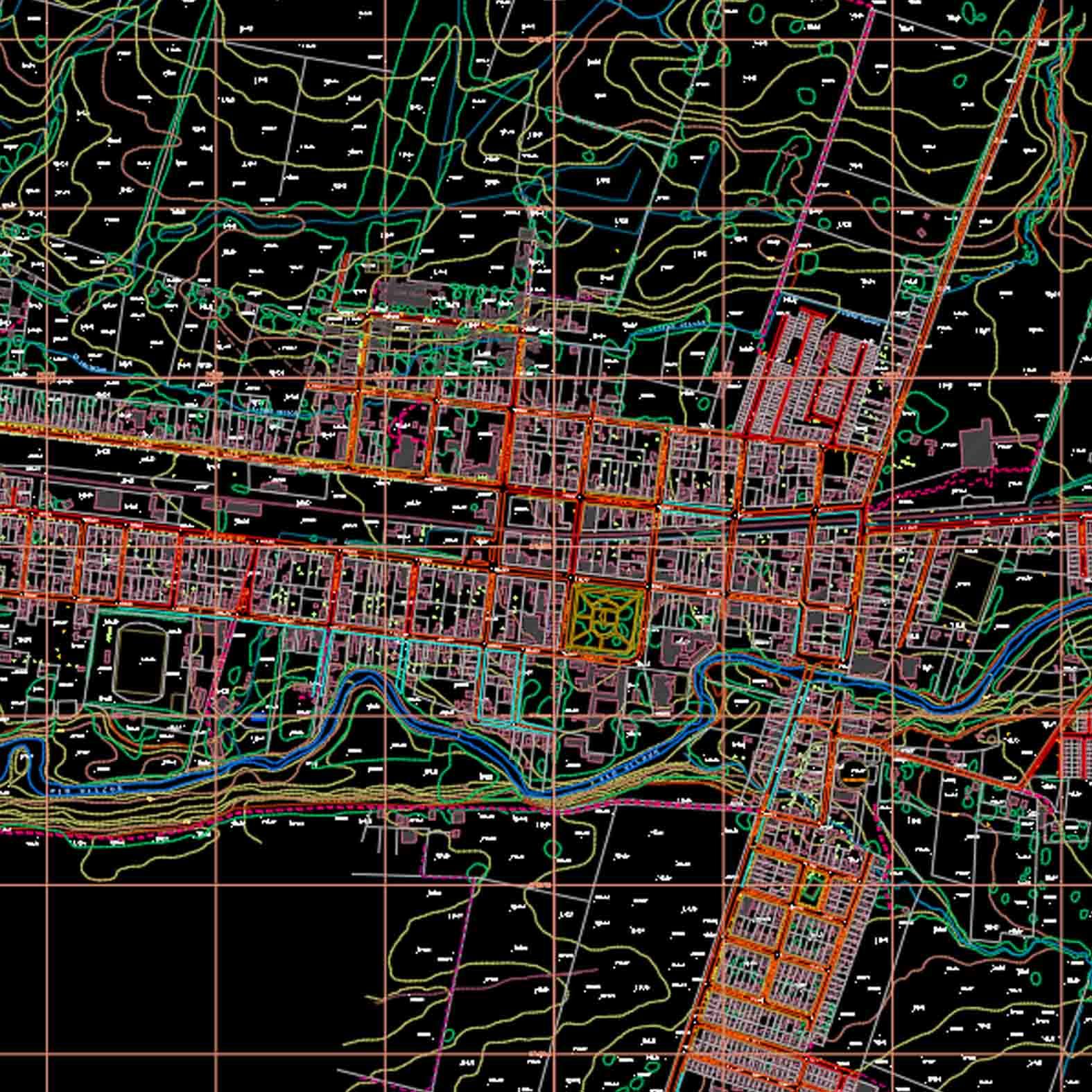 Plano: Ciudad de Vilcún