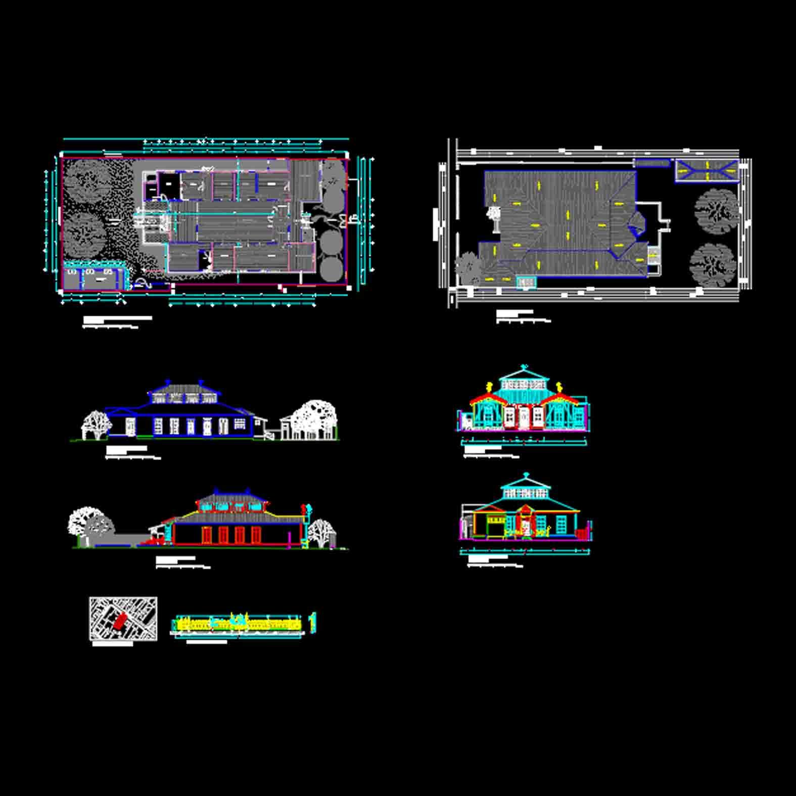 Plano: Casa Maldini Tornini / Copiapó
