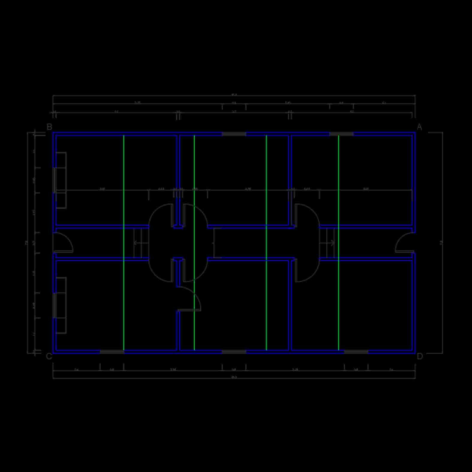Plano: Casa Stirling / Cabo de Hornos