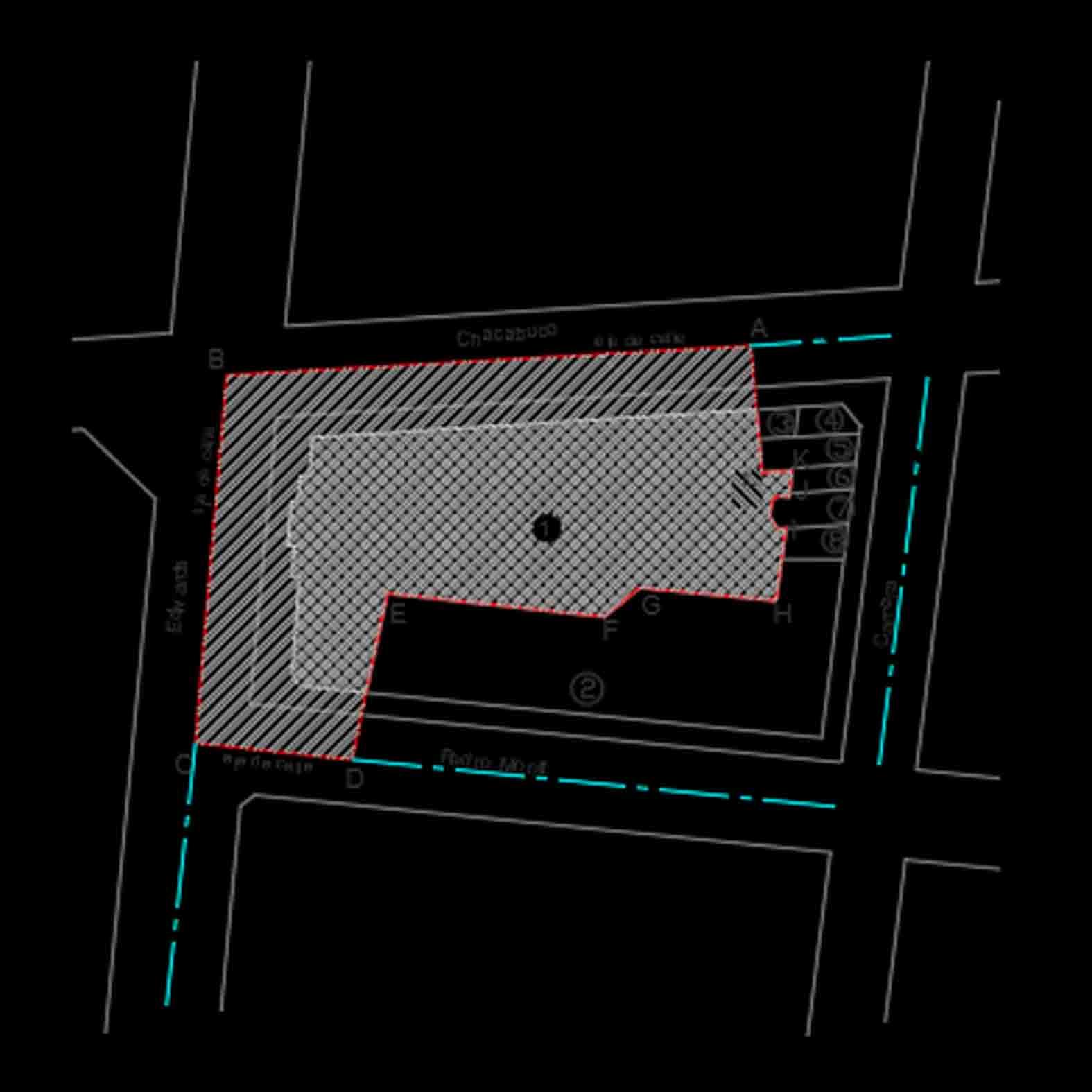 Plano: Catedral de Valparaíso