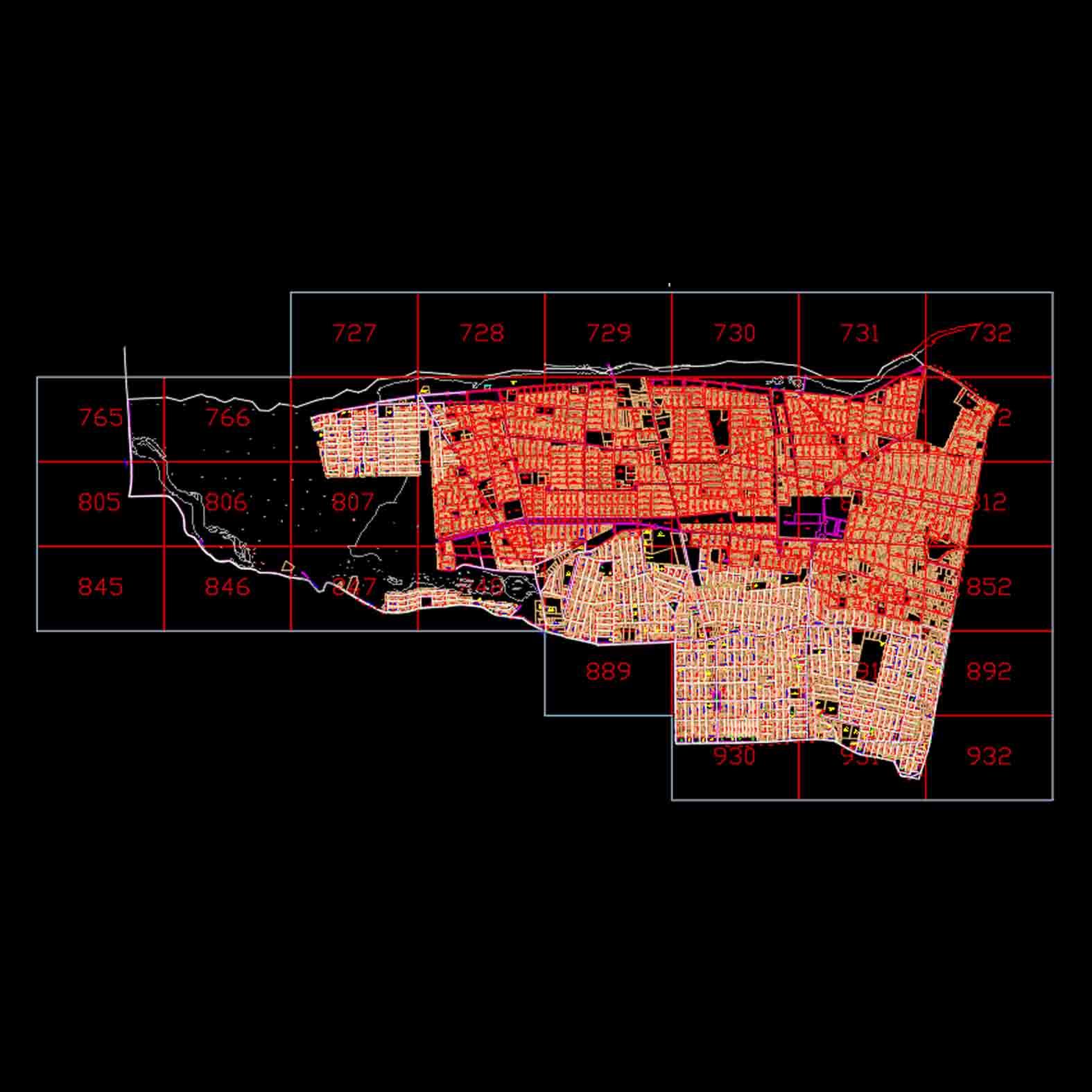 Plano: Comuna de Cerro Navia